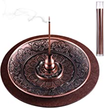 3 Pieces Incense Holder Lotus Plant Home Fragrance Accessories Cone Incense Burner Holder for Home Bedroom Office Yoga Roo...