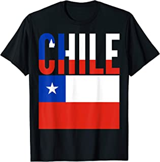Chilean Gift - Chile Country Flag T-Shirt