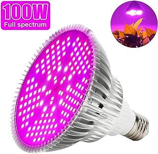 Led Grow Bombilla 100W Espectro Completo LED Planta lámpara