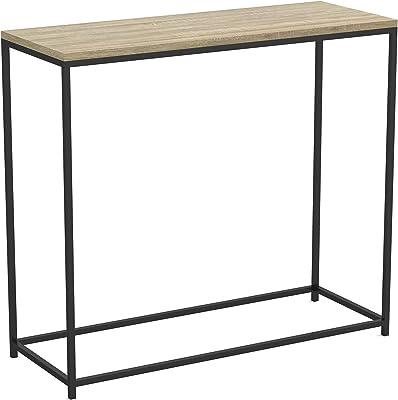 Excellent Amazon Com Sauder North Avenue Sofa Table Charter Oak Theyellowbook Wood Chair Design Ideas Theyellowbookinfo