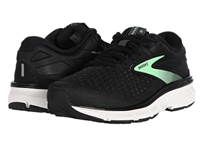 Brooks Dyad 11 (Black/Ebony/Green) Women