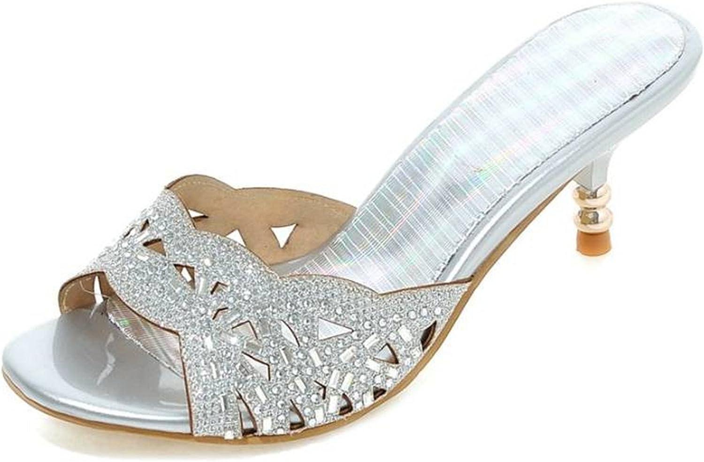 Gome-z 34-43 Sales Women Flip Flops Outdoor Casual Dress Summer shoes Woman Cutout Rhinestone Sandals Open Toe Sandal shoes
