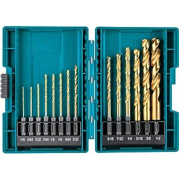 Basic Cellphone Cases CZMY 13PCS Titanium Coated HSS Drill Bit Set for Metal Power Tools Drill Accessories 1//4 Hex Shank Twist Drill Bit Drill Bits