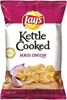 LAY'S Kettle Cooked Maui Onion Flavored Potato Chips 8 Oz (1)