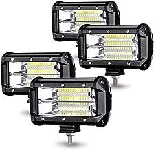 2 St/ück Kraumi LED Arbeitsscheinwerfer 4 Zoll 144W Cree LED Zusatzscheinwerfer 10,500lm Led Scheinwerfer 12V Arbeitsleuchte Offroad Scheinwerfer Auto Arbeitslicht Wasserdicht IP67 Arbeitslicht