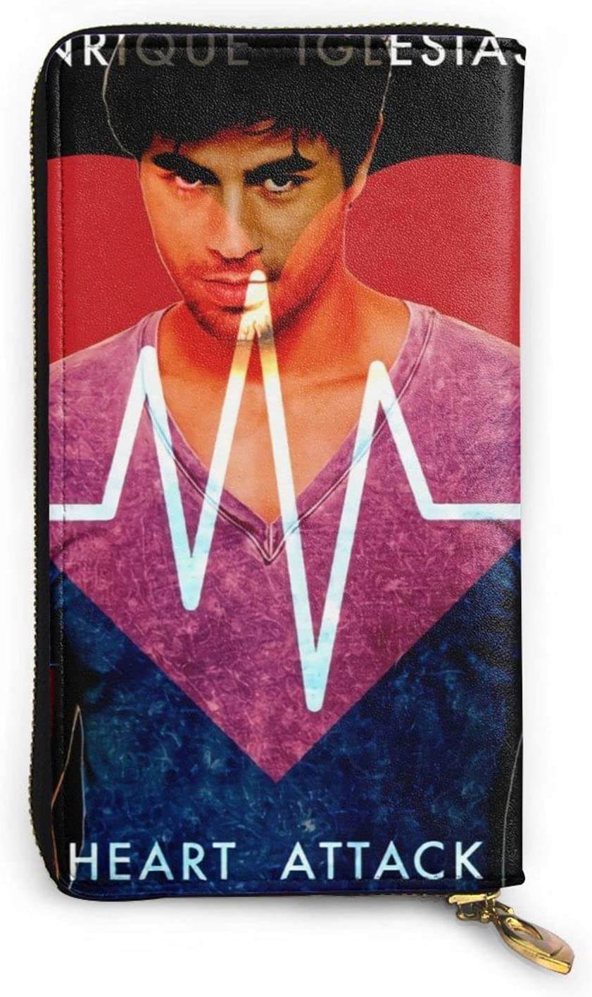 price Enrique Clearance SALE! Limited time! Iglesias Leather Wallet Credit Holder For Card Phone Bag