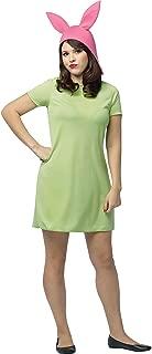 Rasta Imposta - Bob's Burgers: Louise Adult Green Dress Costume