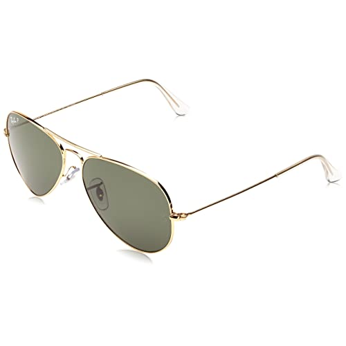 a35169d6e97 Ray-Ban Unisex RB3025 Aviator Sunglasses 55mm