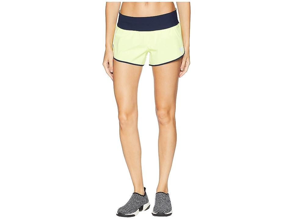 New Balance 3 Impact Shorts (Solar Yellow) Women
