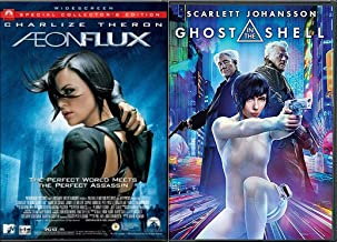 Super Babes In SciFi Classics- Aeon Flux & Ghost in the Shell DVD Double Feature 2-Movie Set