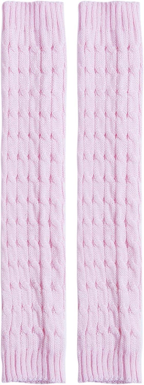 Women Winter Warm Knit High Knee Leg Warmers Crochet Leggings Boot Socks Slouch