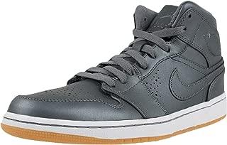 Jordan Mens Retro 1 Nouveau Cool Grey/White/Gum Light Brown/Cool 629151-007 9.5