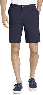 "IZOD Men's Saltwater 9.5"" Flat Front Chino Short"