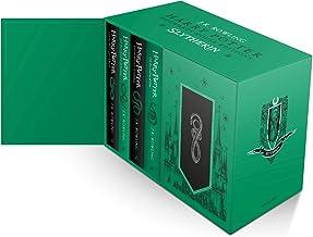 Harry Potter Slytherin House Editions: J.K. Rowling - Hardback Box Set: 1-7