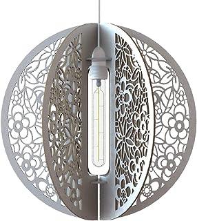 Lampadario a sospensione Design Composizion Fiori Lampada soffitto Circolare