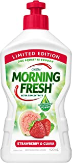 Morning Fresh Strawberry and Guava Dishwashing Liquid, Strawberry and Guava 400 milliliters
