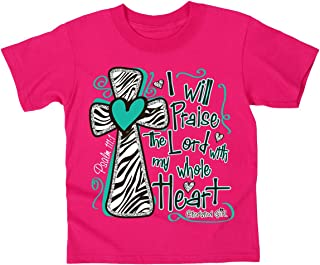 I Will Praise The Lord - Kidz Cherished Girl T-Shirt - Christian Fashion Gifts