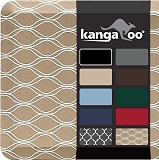 "KANGAROO BRANDS Original 3/4"" Anti-Fatigue Comfort Standing Mat Kitchen Rug, Phthalate Free Mats, Non-Toxic, Waterproof, E..."