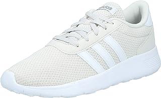 adidas LITE Racer Men's Performance Shoes, Raw White/Cloud White/Grey Three, 9 US