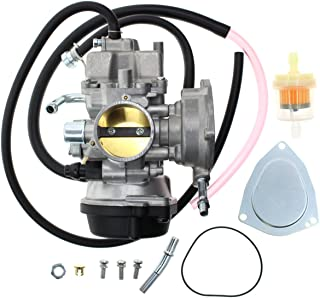 Carbhub LTZ400 Carburetor for Suzuki LTZ400 LTZ 400 ATV Quadsport Carb 2003-2007 with Fuel Filter Carburetor Rebuild Kit
