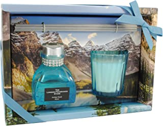 Luxe Tropical Melon et Mangue Bougie Parfumée-Large 380 G-verre clip couvercle bocal