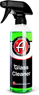 Adam's New Glass Cleaner - Streak Free Glass Cleaning - Optical Clarifiers Keep Glass Clear for Improved Visibility - Safe...