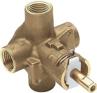 (Renewed) Moen 2510 Monticello PosiTemp Pressure Balancing Shower Valve, 1/2-Inch IPS
