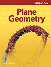 Plane Geometry: Solution Key