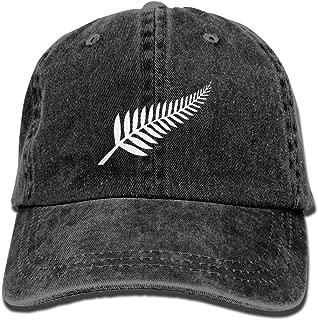 New Zealand Maori Fern Adjustable Cotton Hat