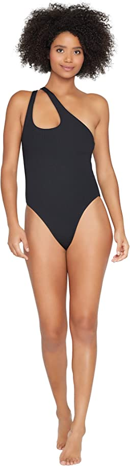 Ridin' High Ribbed Phoebe Classic One-Piece