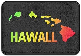 """HAWAIIAN ISLAND Doormats Entrance Rug Floor Mats Doormats Floor Mat 15.7""""23.6"""""""