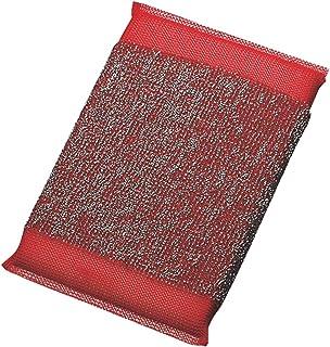 カンダ キッチンスポンジ レッド 14.5×9cm メタルクリーンスポンジ 89071