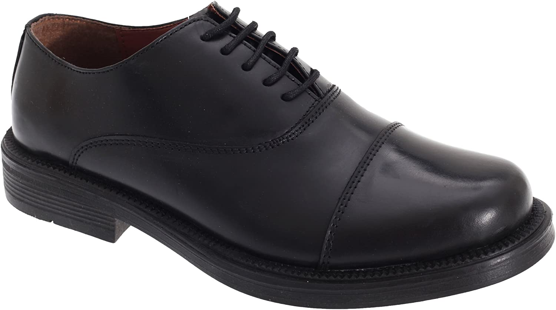 Scimitar Mens Capped Oxford Cadet Shoes