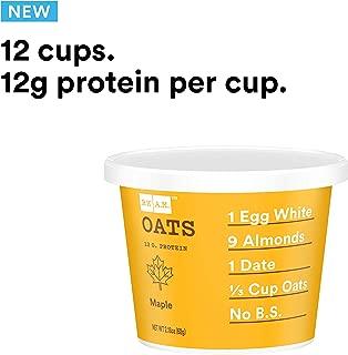 RXBAR, Rx A.M. Oats, Maple, 12ct, 2.24oz Cups, 12 Gluten Free Oatmeal Cups