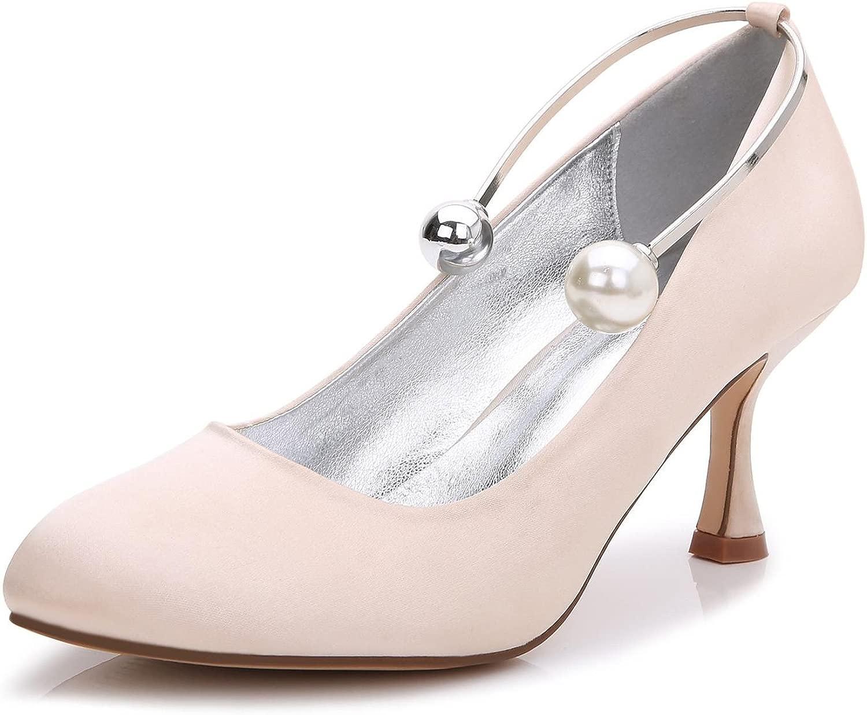 L@YC Damen High Heels Hochzeit Ball Ball T-17061-63 Closed Toe Perlen Abend Party  Hochzeit Benutzerdefinierte Schuhe  bis zu 70% Rabatt