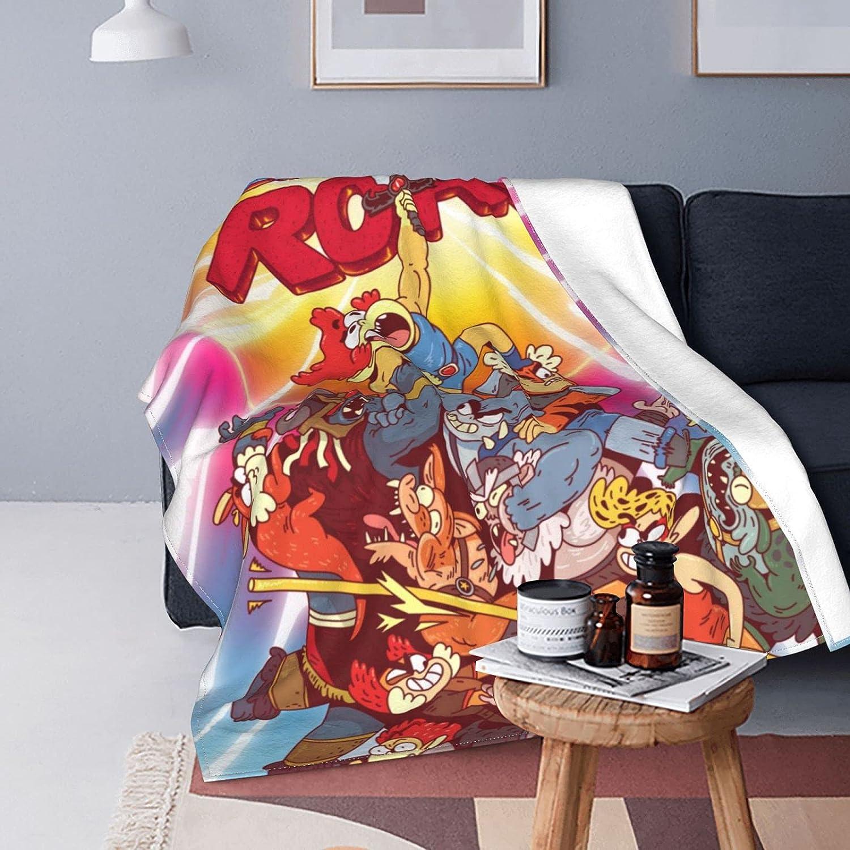 AYTOYY Thundercats Roar Anime Blanket Cozy Japan's largest assortment Fleece Bla 55% OFF Ultra-Soft