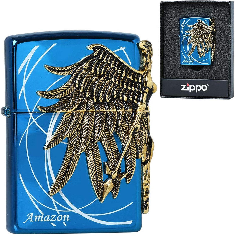 Zippo Amazon blueee GD Lighters Genuine and Original Packing