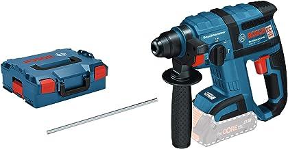 Bosch Professional GBH 18 V Martillo perforador, 1,7 J, sin batería, diámetro máximo hormigón 18 mm, portabrocas SDS plus, motor EC, en L-BOXX, 18 W