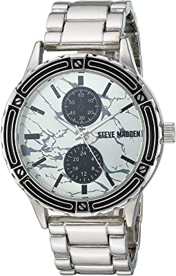 Multifunction Dial Alloy Band Watch SMW190