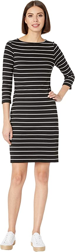 3/4 Sleeve Sheath Dress