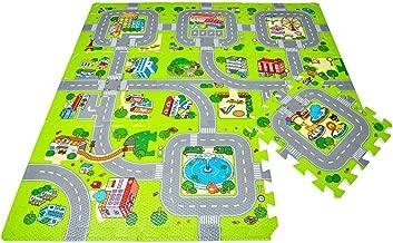9tlg Puzzlematte Puzzleteppich Spielmatte Bodenmatte Kinderteppich Matte WW 28