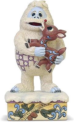 Enesco Bumble Holding Rudolph Figurine