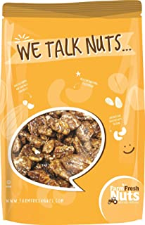 Farm Fresh Nuts Pecans Honey Glazed (1 Lb)