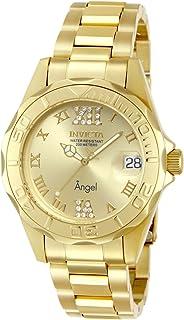 Invicta 14397 Watch Women's 14397 Angel Analog Swiss-Quartz Gold