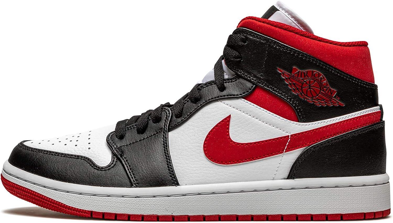 Amazon.com | Nike Jordan 1 Mid Igloo Men's 554724-132 | Basketball