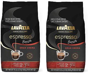 2-Pack Lavazza Gran Crema Espresso 2.2-Pound Medium Roast