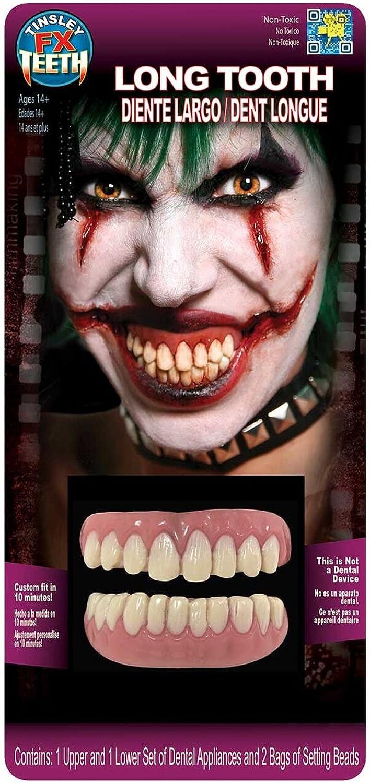 Tinsley Transfers Teeth FX  Long Tooth