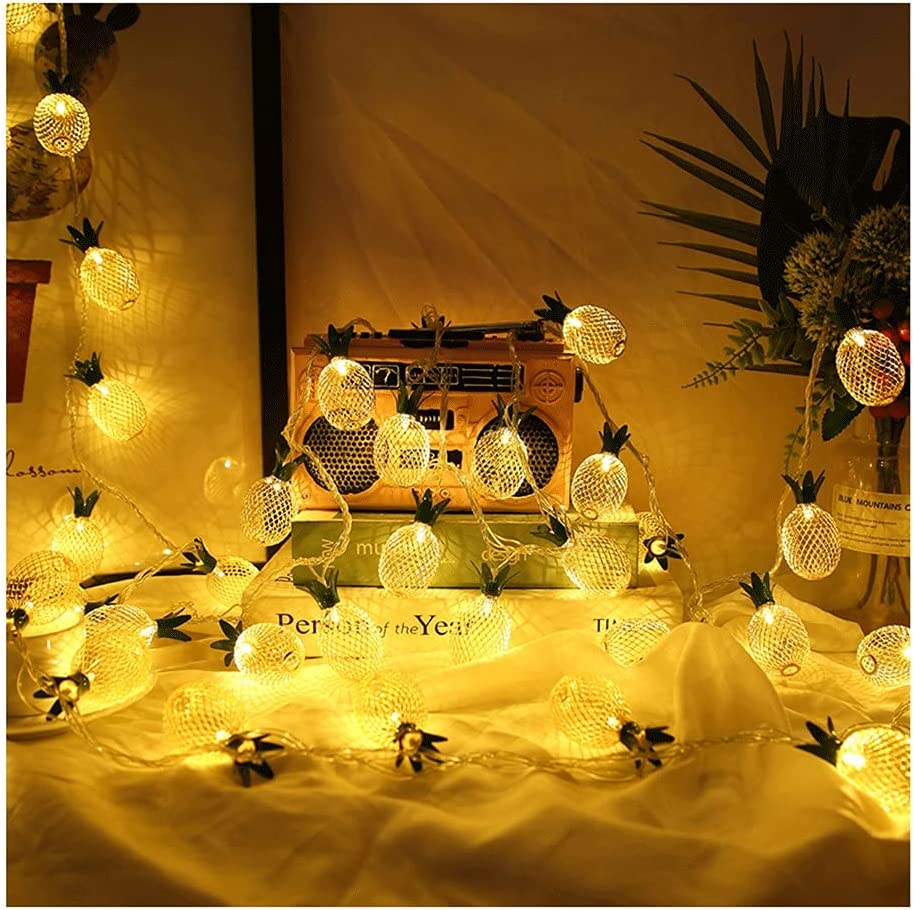 Ranking TOP12 MENGGE Wire Pineapple Led String Waterproof Nordic Lights Style Free shipping on posting reviews