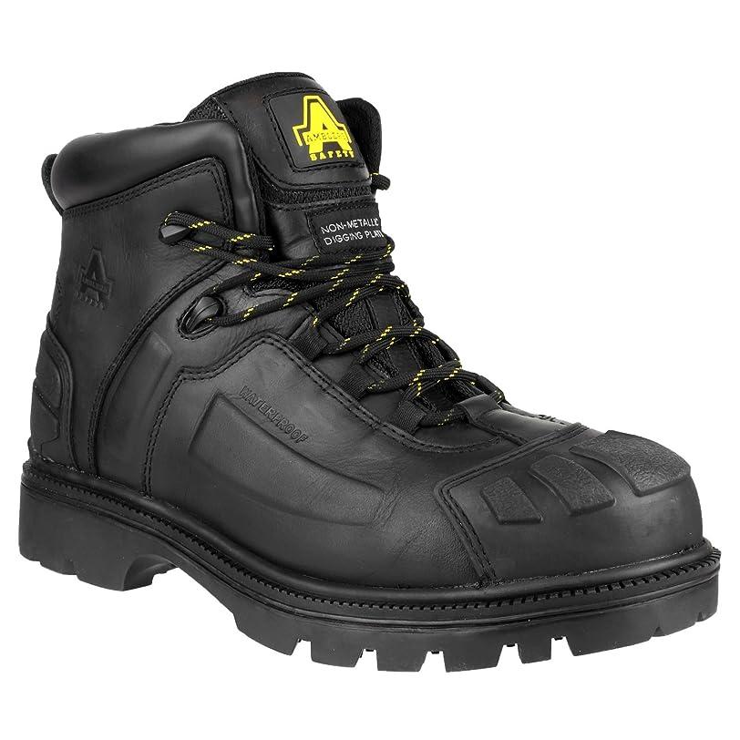 嬉しいですノベルティベギンMens FS996 Metal Free Waterproof Lace up Digging Safety Boot Black Size UK 11 EU 45