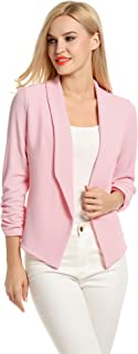 Best baby pink blazers Reviews